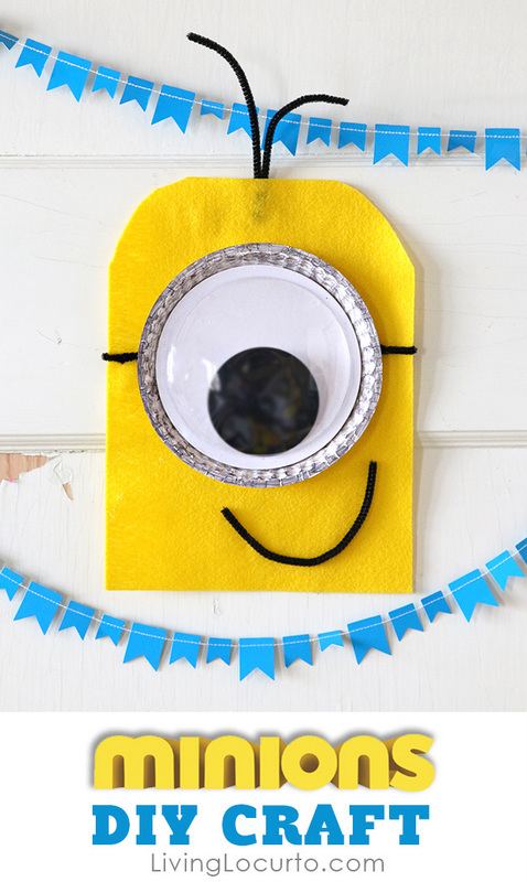 DIY minions wall art