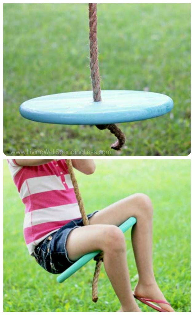 DIY tree swing tutorial