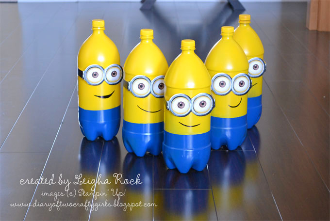 minion bowling pins