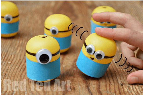minions from kindersurprise egg