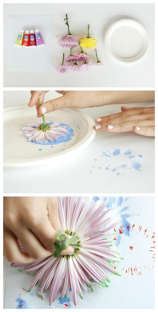 DIY-flower-heads-painting