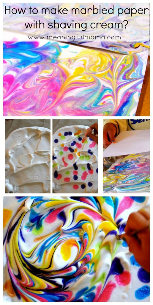 DIY-shaving-cream-paper-art