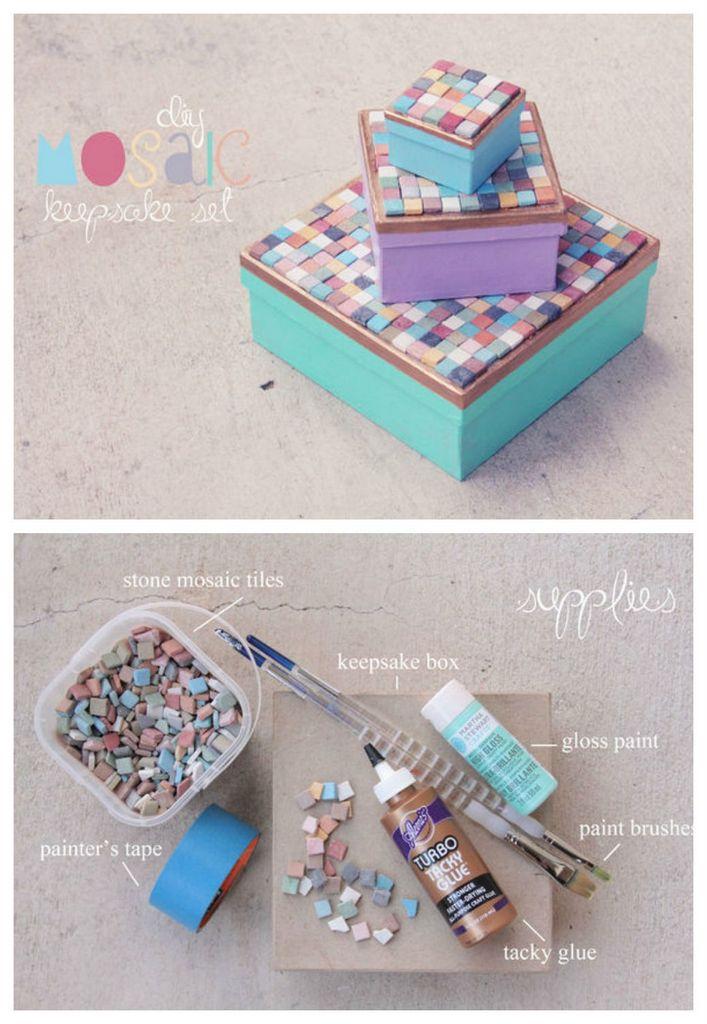 Mosaic-keepsake-boxes