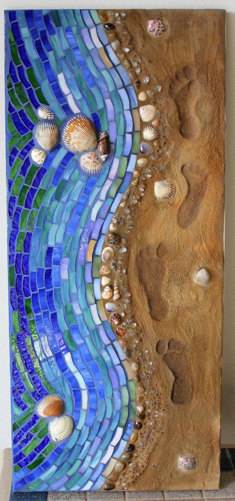seashore-mix-media-art