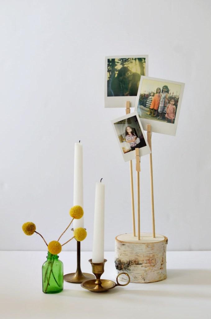 Birch Photo Pillar