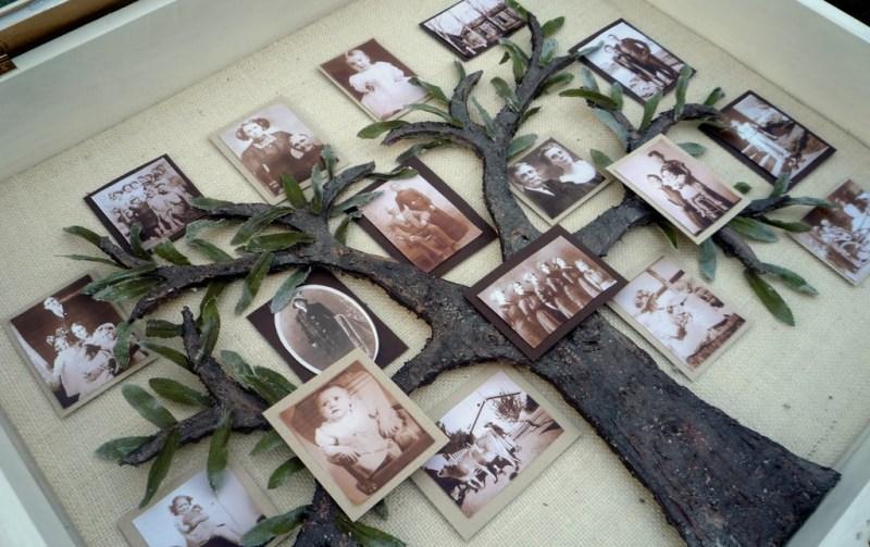 Shadow Box Family Tree