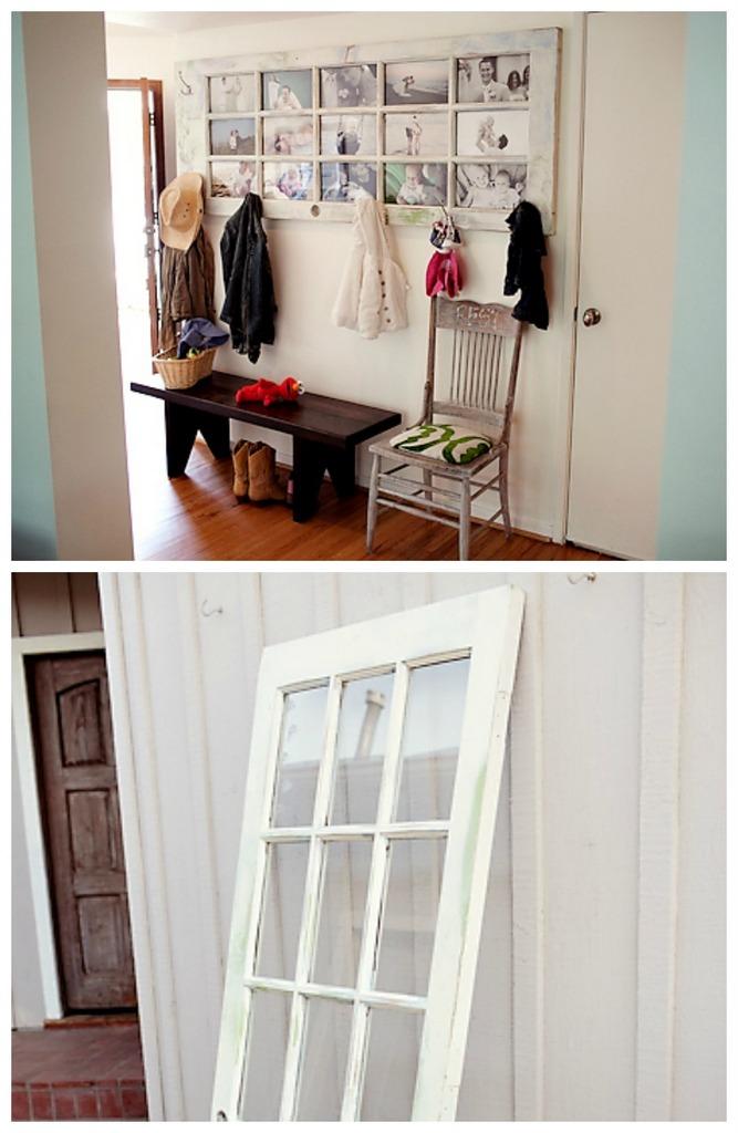 DIY door to photo display