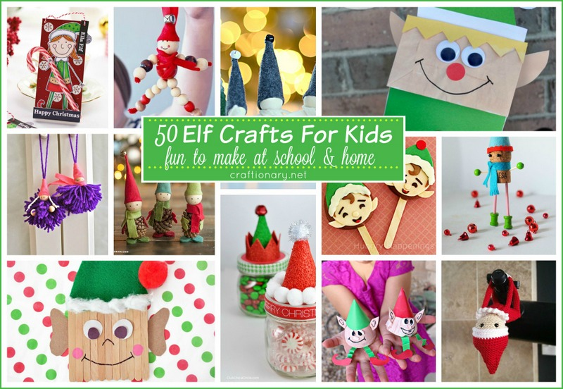 Make elves with kids