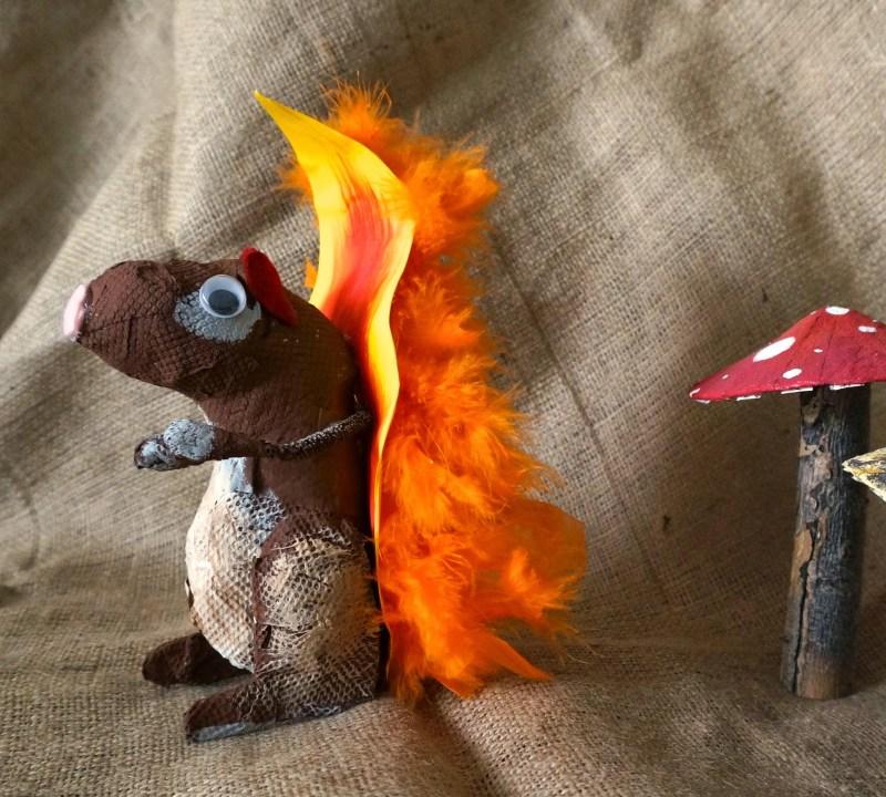 kids-paper-squirrel-craft