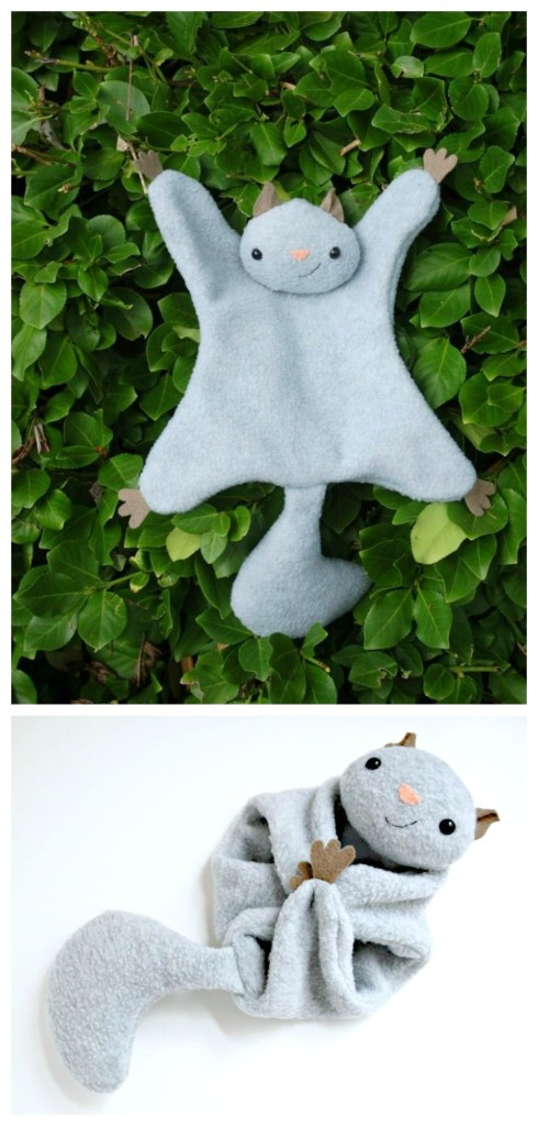 Felt flying squirrel