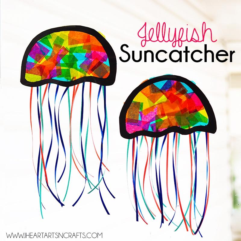 jellyfish kids craft