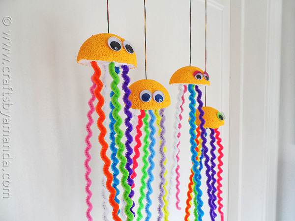 pipe cleaner jelly fish