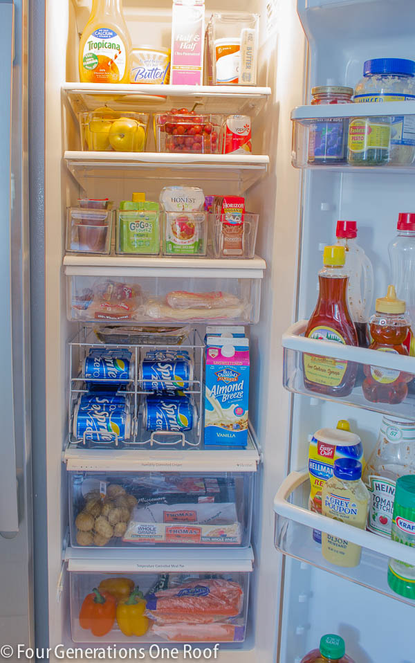 refrigerator organizing ideas