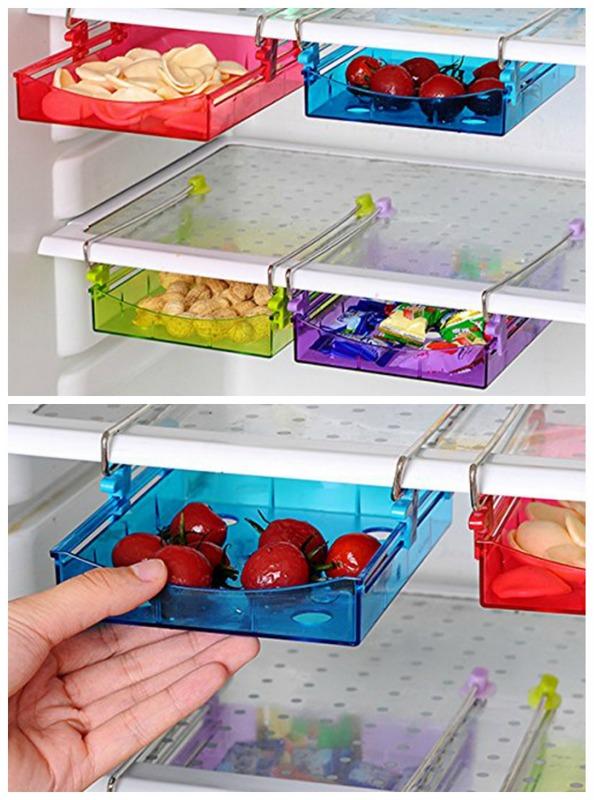 space saving fridge drawers
