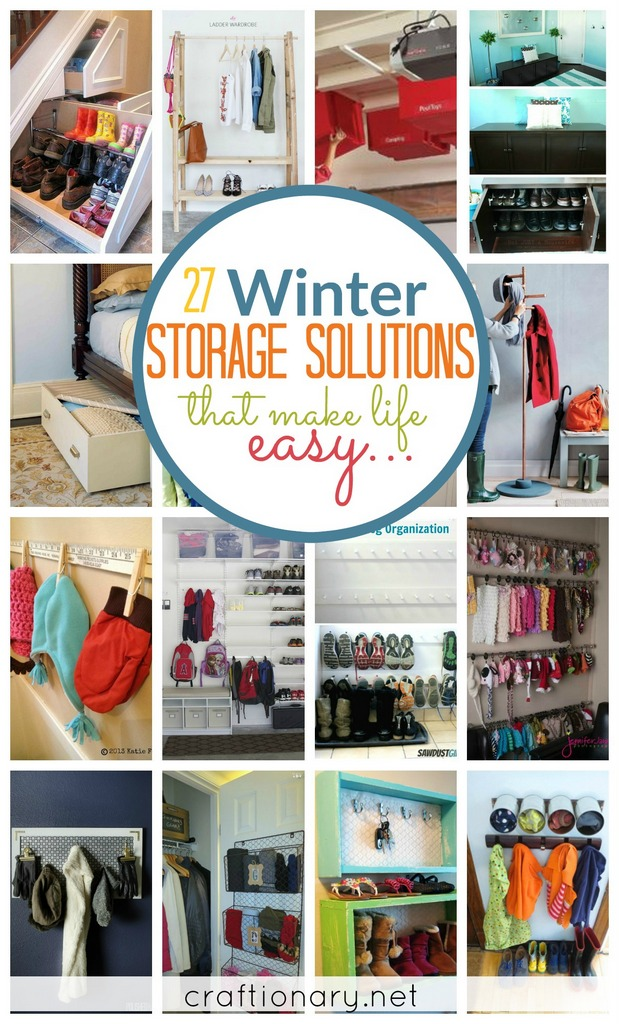 Winter storage solutions at craftionary.net