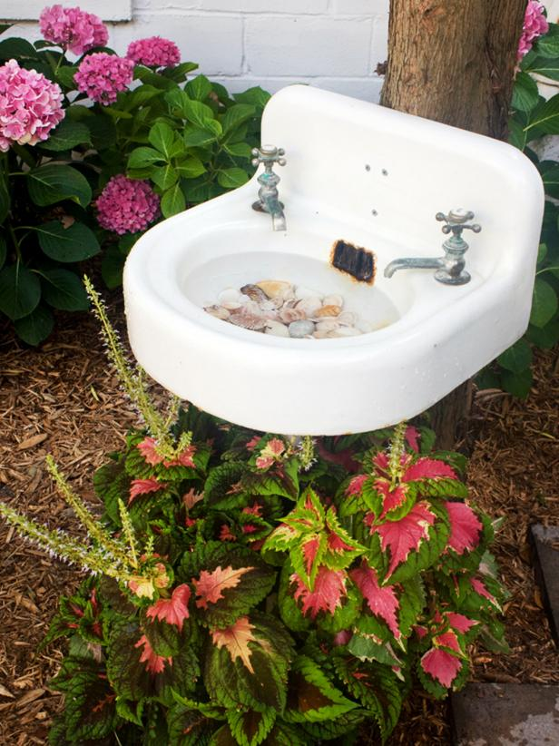 bird bath diy ideas