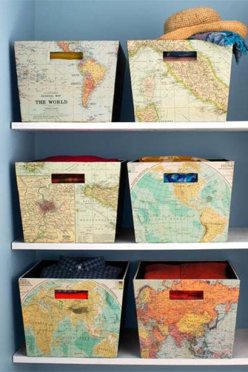 DIY storage bins baskets and boxes