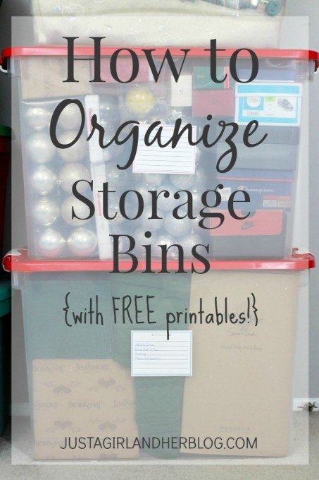 how to organize containers