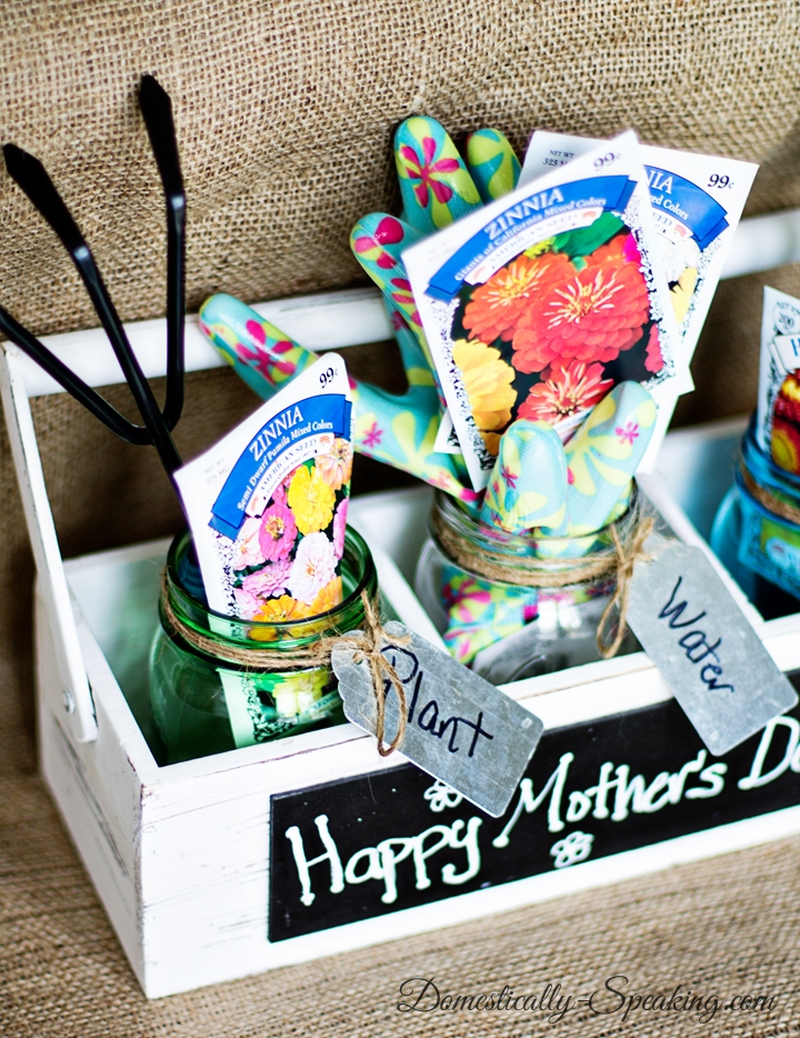 mother's day gardening jar kit Mothers day gifts