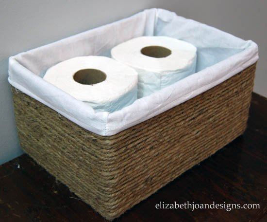 Boxes into basket storage