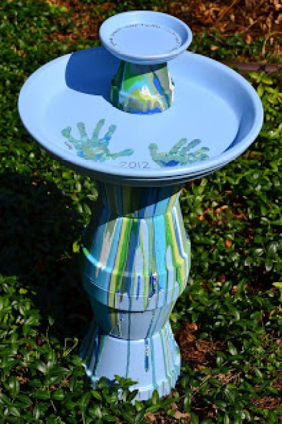 bird bath projects DIY