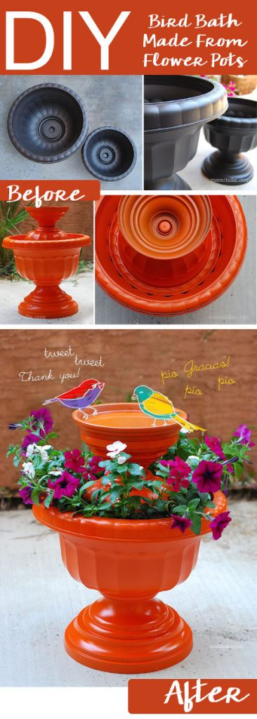 bird bath project