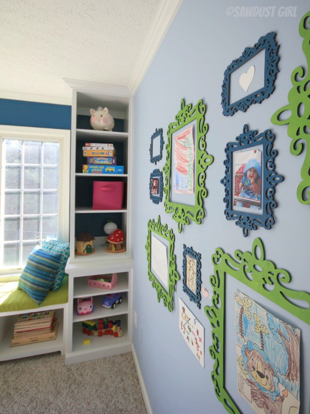 kids playroom wall art ideas