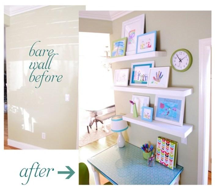 wall study station