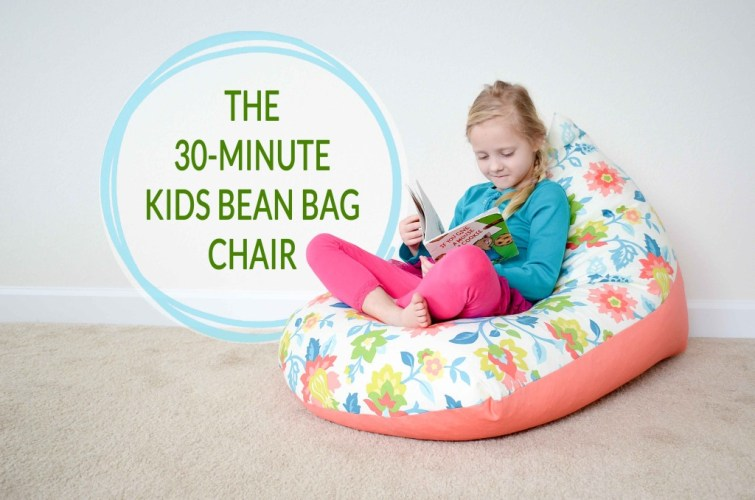 30 minutes kids bean bag chair