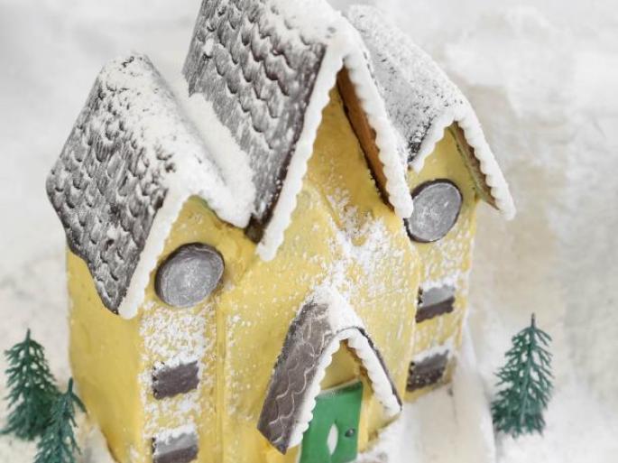 Original Heather Baird victorian gingerbread house