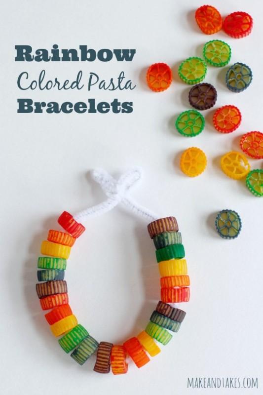 pasta-creative-crafts-pasta-bracelets