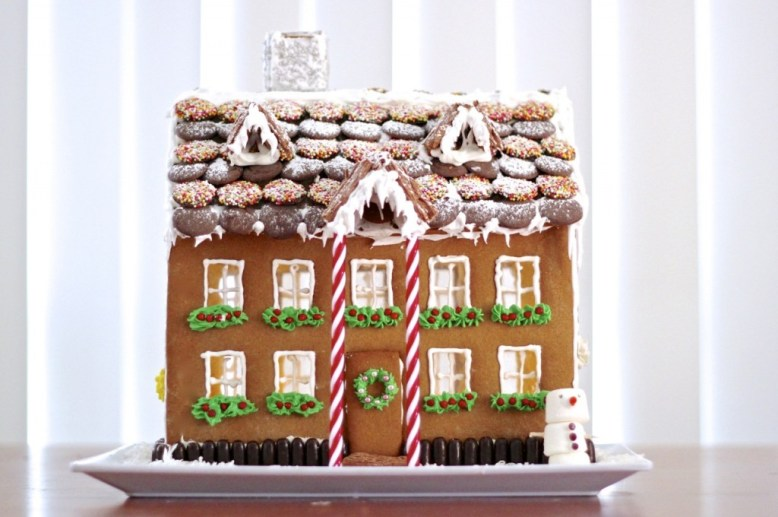 building the best gingerbread house