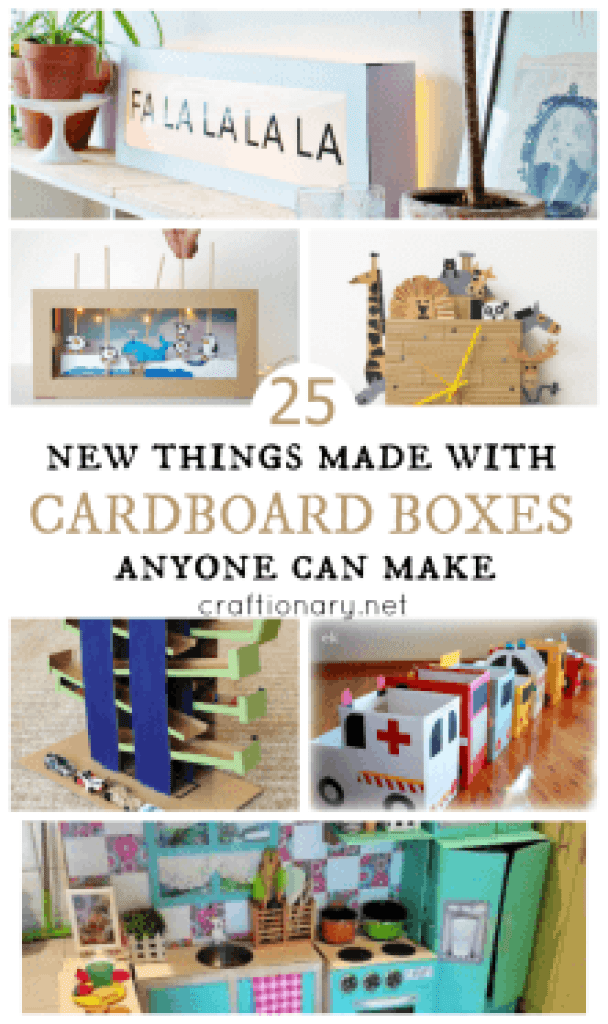 New cardboard box projects
