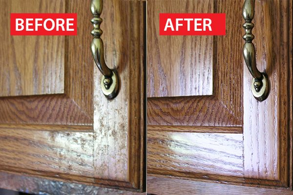 cabinets cleaning hacks