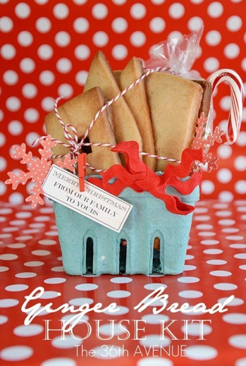 ginger bread house making kit