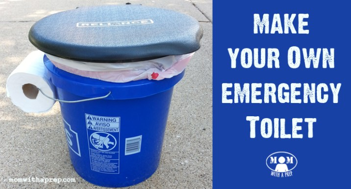 make your own emergency toilet