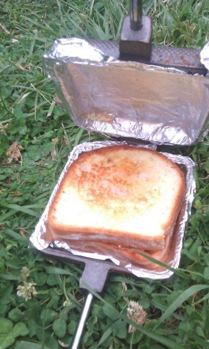 pie iron camp food