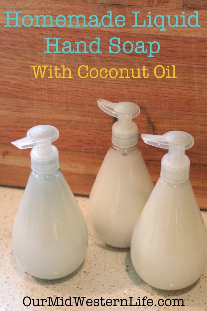 Homemade hand soap tutorial