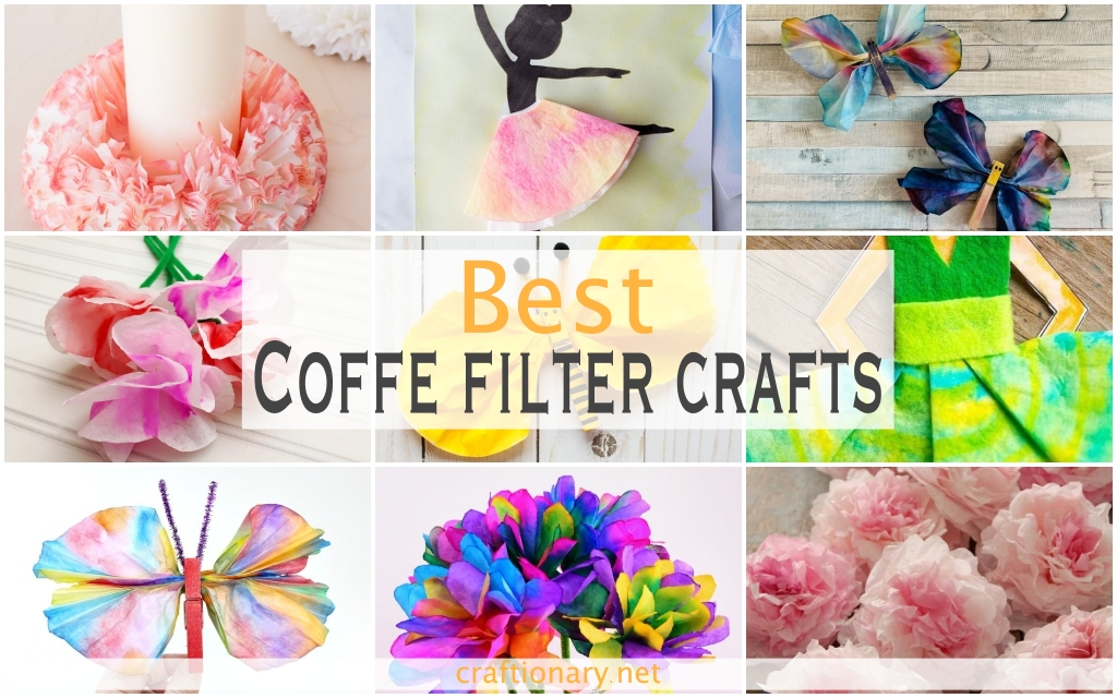 Coffee-filter-crafts