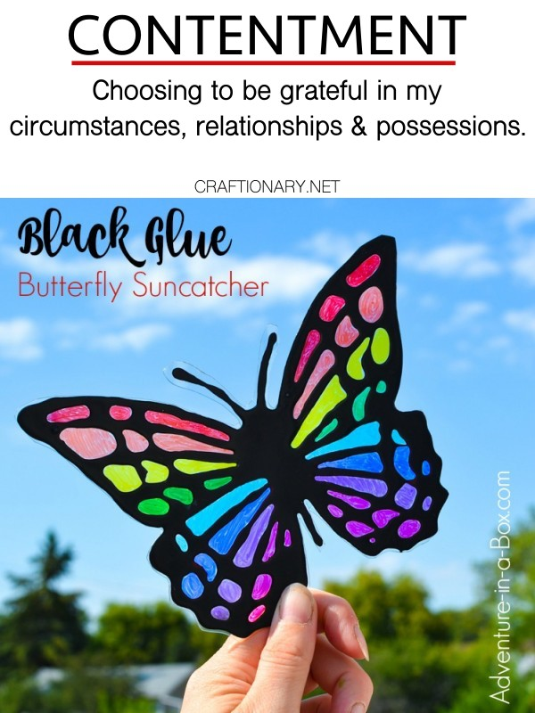contentment-stained-glass-butterfly-made-with-sharpies-and-black-glue-craftionary