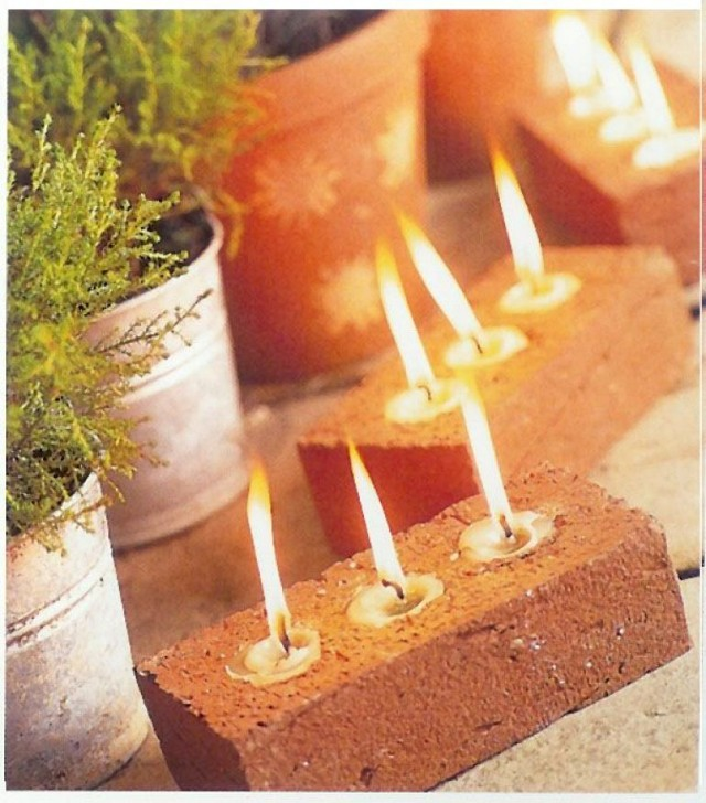 diy-tea-light-outdoor-lights-from-old-bricks