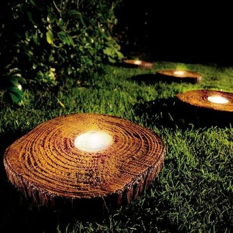 tea-light-wood-disc-diy-outdoor-lights