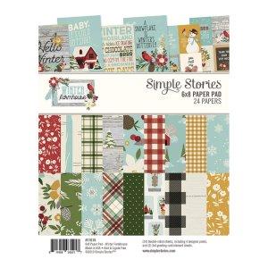 Simple Stories – Winter Farmhouse 6×8 Paper Pad