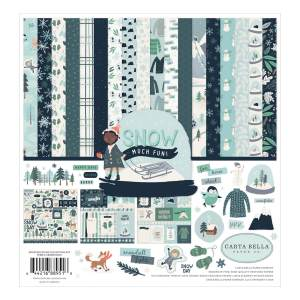 Carta Bella – Snow Much Fun Collection Kit 12×12