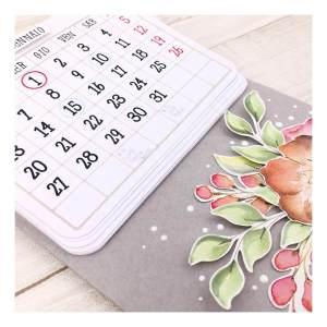 ModaScrap Clear Stamps – Calendar