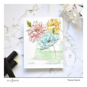 Altenew – Beautiful Peony Stamp Set