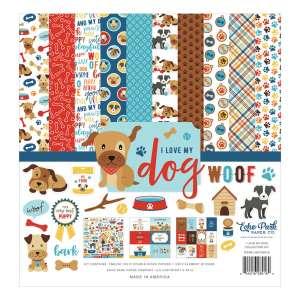 Echo Park – I Love My Dog Collection Kit 12×12