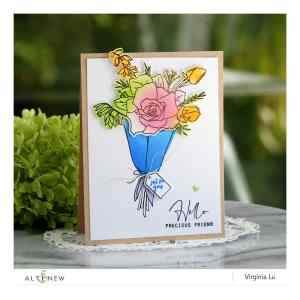 Altenew – Breezy Bouquet Stamp Set