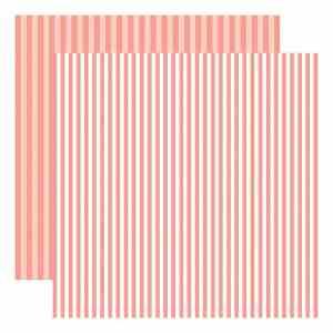 Echo Park Dots & Stripes – Coral Reef Stripe
