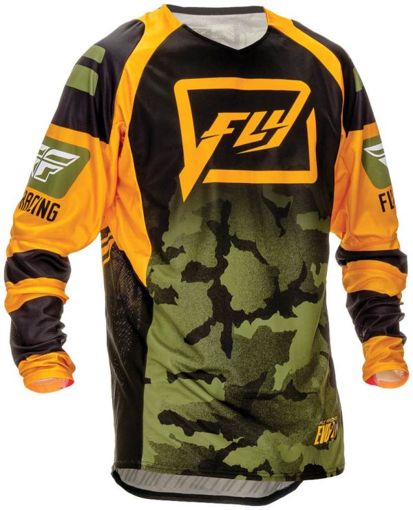 camo motocross shirt